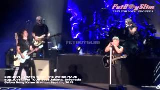 BON JOVI - THAT'S WHAT THE WATER MADE ME live in Jakarta, Indonesia 2015