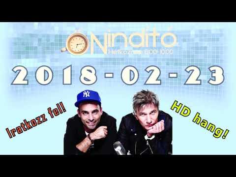 Music FM Önindító HD hang 2018 02 23 Péntek