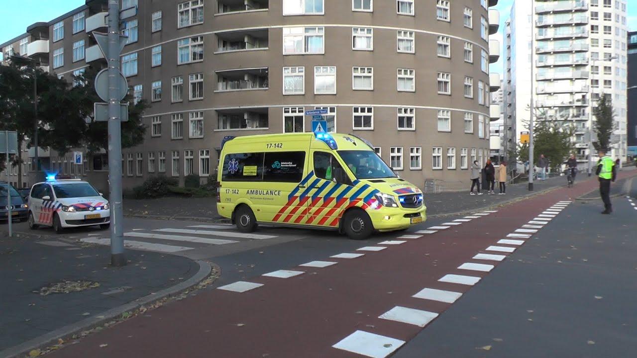 Twee keer ambulance met spoed door afzetting spoedtransport! #1122