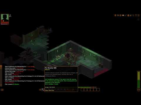 Underrail pure PSI build killing a pack of Mutants in Depot A at level 8 on Hard. |