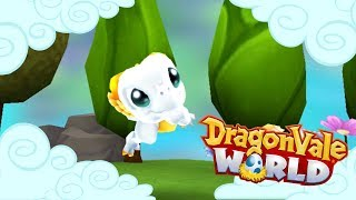 An Elysium Dragonet in the Clouds!! 🐲 DragonVale World