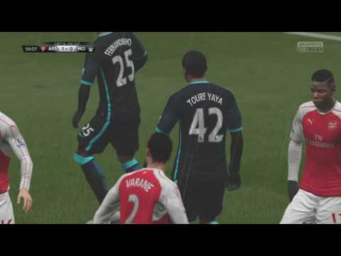 Fifa 16 Manager Career Mode: Arsenal #7 Capital One Cup Final....Wait he got what injury?