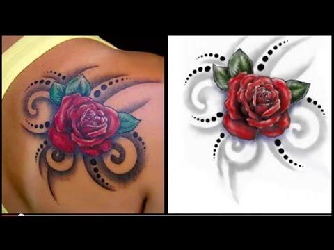 Mejores Tatuajes De Flores Youtube