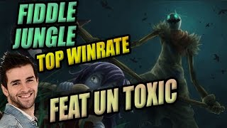 LoL ♦ Fiddlestick Jungle ♦ Skyyart Gameplay - Feat un Toxic player & Un Thresh de talent !