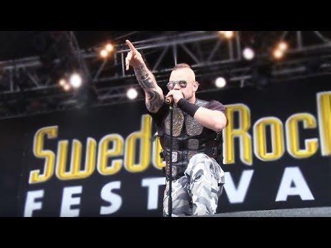 Sabaton swedish national anthem live at sweden rock festival