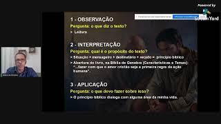 Estudo bíblico com base no livro: Filemom - Ailton Oliveira - Igreja Presbiteriana do Pechincha