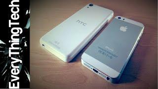 HTC Desire 626s vs iPhone 5S!
