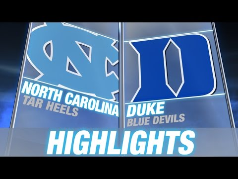North Carolina vs Duke | 2014-15 ACC Men