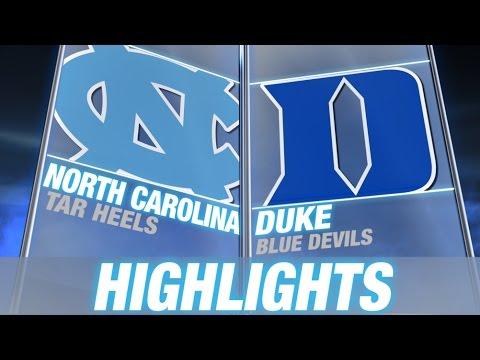 North Carolina vs Duke | 2014-15 ACC Men's Basketball Highlights