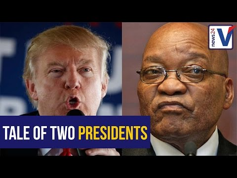 WATCH: Author describes parallels in American and South African politics