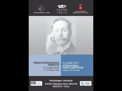 "INTERNATIONAL PIANO COMPETITION ""A.SCRIABIN 2018"""