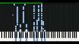 Paolo Nutini - Coming up easy [Piano Tutorial] Synthesia | passkeypiano