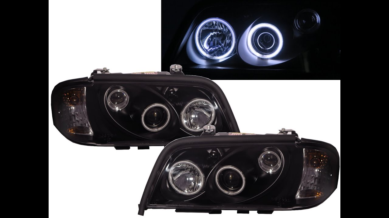 Crazythegod c class w202 1994 2000 4d 5d ccfl projector for Mercedes benz c300 headlights