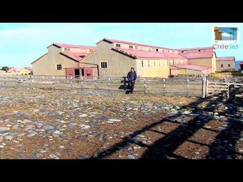 Estancia San Gregorio. Región de Magallanes. Fundada en 1870. Ruta CH255. Patagonia Chilena.