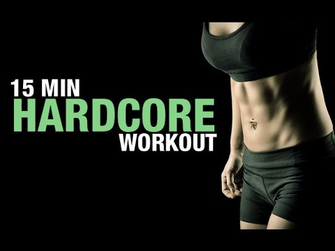 15 Minute Abs Workout (CARDIO BONUS AT THE END!!)