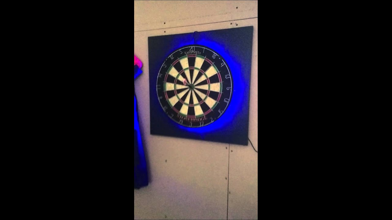 Dartboard Lighting Effects  Youtube