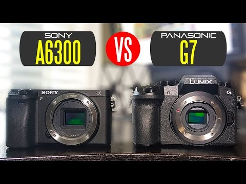 Sony A6300 vs Panasonic G7 - Whats The Best Budget 4K Camera?