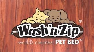 Washable Dog Bed by Wash 'n Zip Pet Beds