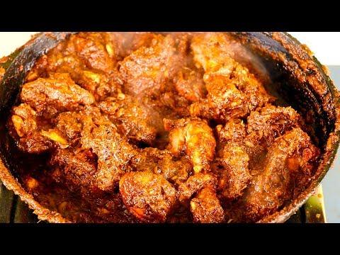 Chicken Chukka Fry -  Chettinad Chicken Chkka Varuval - Spicy Dry Chicken Fry