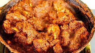 Chicken Chukka Fry -  Chettinad Chicken Chkka Varuval - Spicy Dry Chicken Fry
