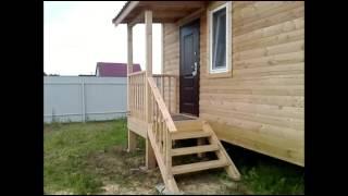 СК БарИНстрой 8х8 дом с эркером,проект № 35