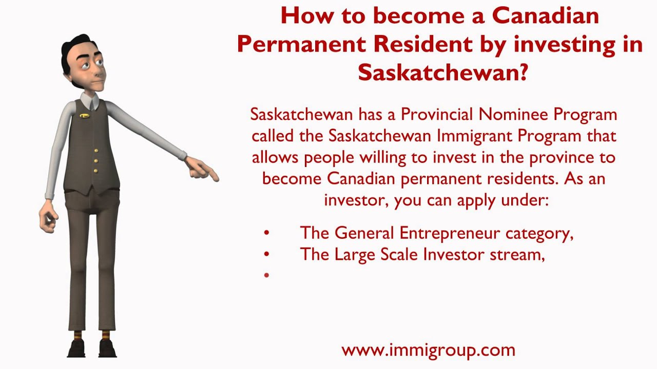 How to become a Canadian Permanent Resident by investing in ...