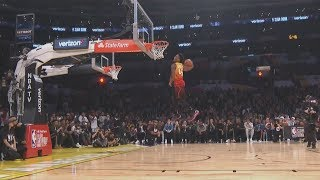 Round 1- 2018 Verizon Slam Dunk Contest! (Full Highlights)