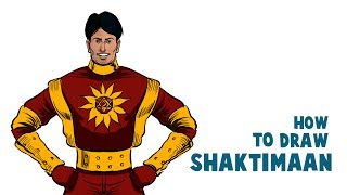 How To Draw And Color Shaktimaan In Krita | Drawing And Coloring  Shaktimaan In Krita |