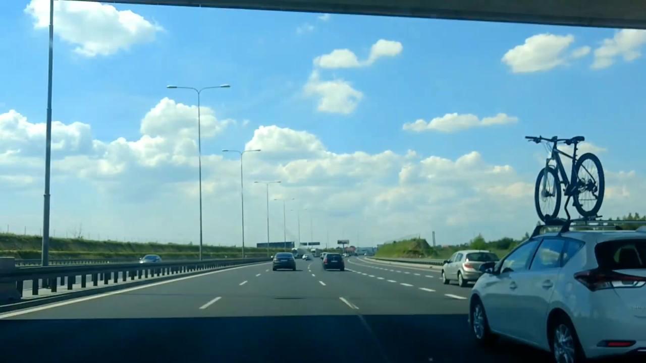 Dash Cam - driving in Poland 2 / вождение в Польше 2 / Fahren in Polen 2