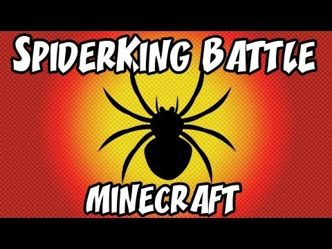 Minecraft: PvP | SpiderKing Battle | Dumb and Dumber