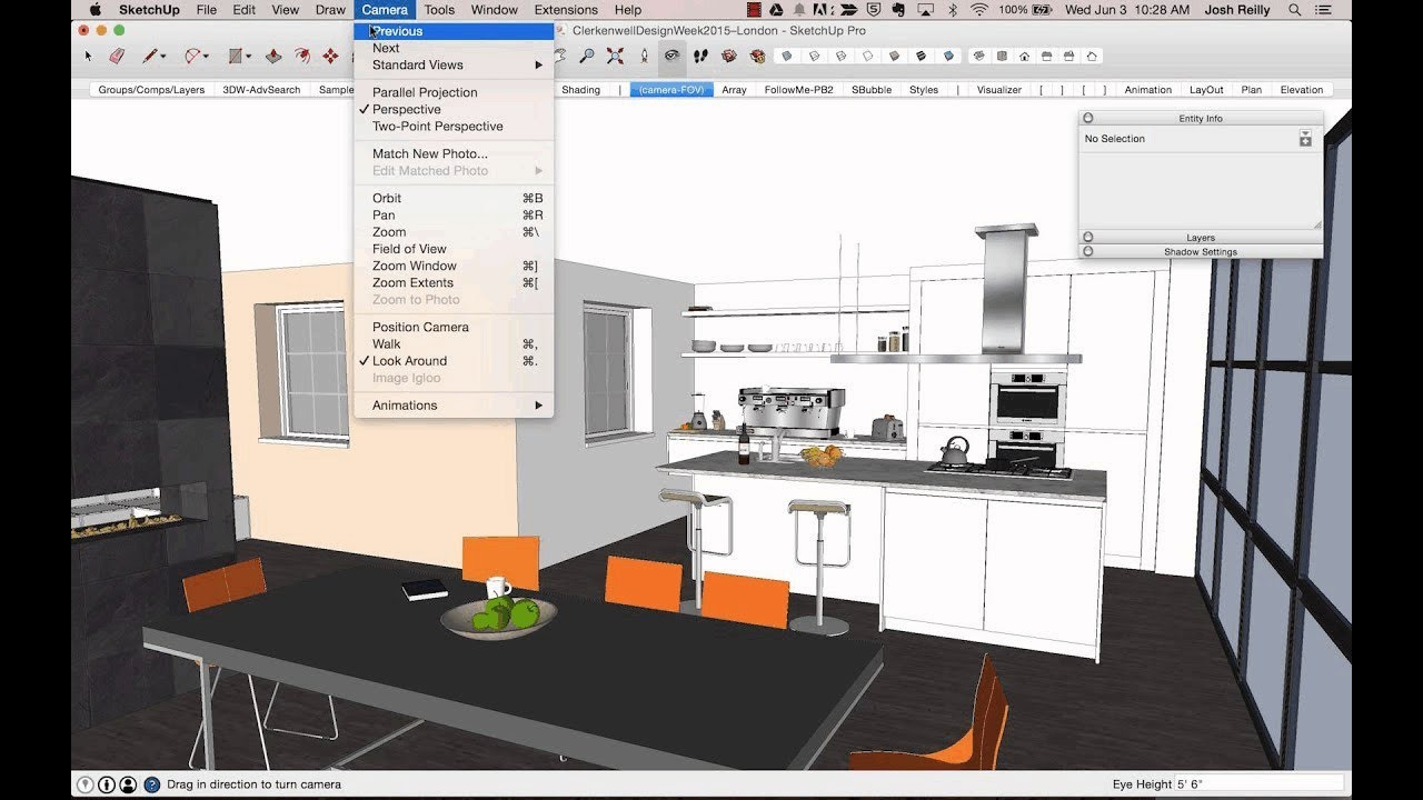 SketchUp tips for interior designers - YouTube