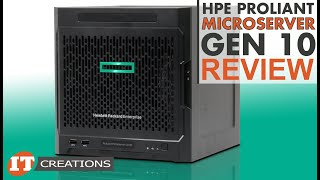 Hpe Proliant Microserver Gen10 Review | It Creations