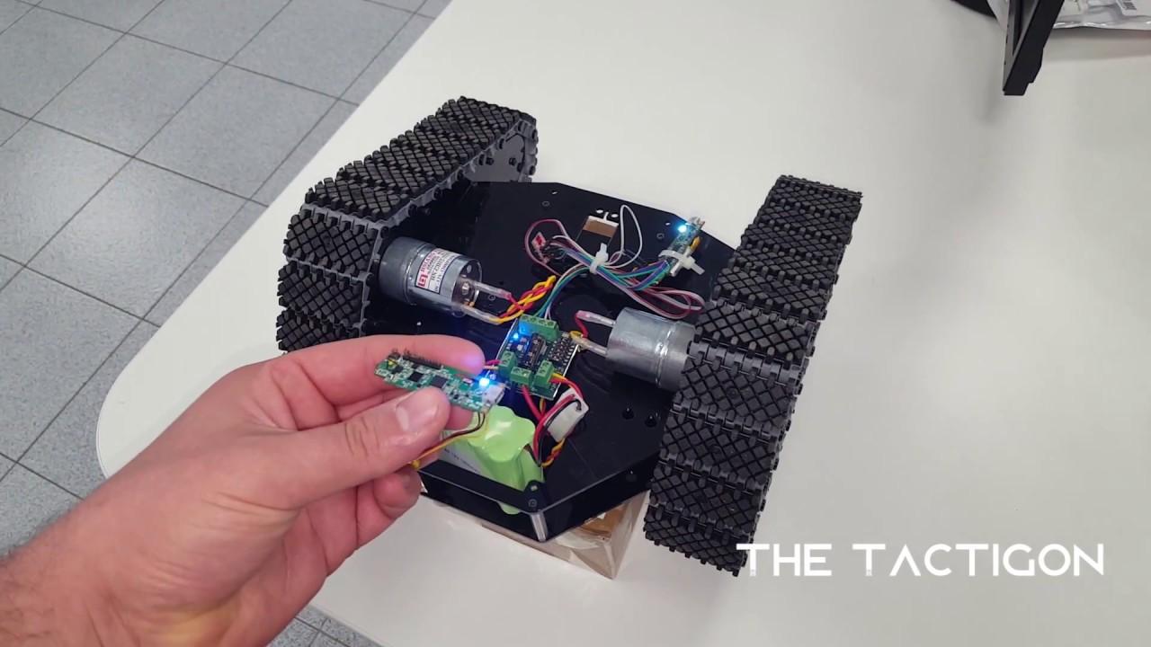 Control a Rover using The Tactigon and IMU - Arduino Code