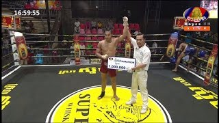 Wisky Marathon, ម៉ឺន មេឃា Vs ជ័រ ពៅ, Bayon TV Boxing, 19/May/2018 | Khmer Boxing Highlights