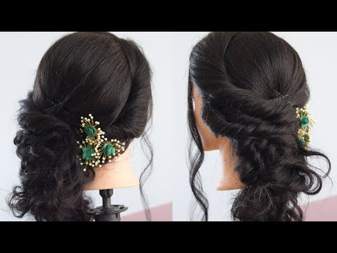 Side Braid Hairstyle (Hindi) - Messy Style