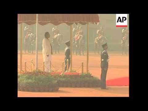 President arrives for state visit