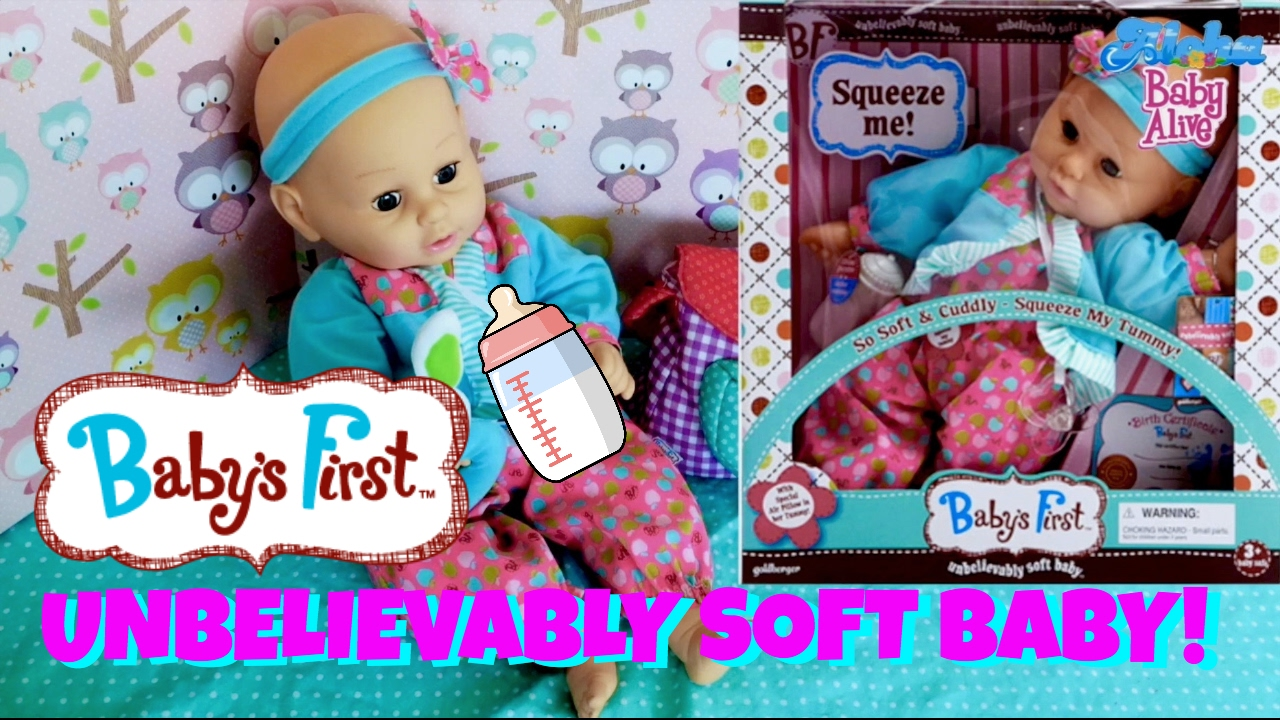 Goldberger Baby S First Quot Unbelievably Soft Baby Quot Doll