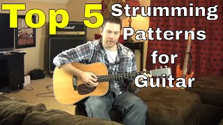 TOP 5 Strumming Patterns On Guitar