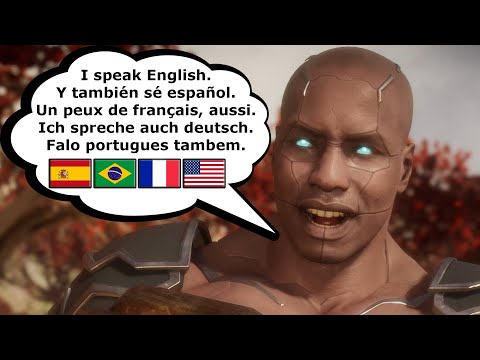 Mortal Kombat 11 - How Characters Sound In Other Languages