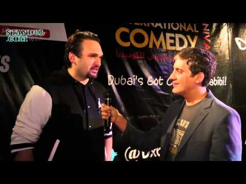 STEREOTYbES: NEMR ABOU NASSAR talks Americans, Arabs and more to STANDUb.COM