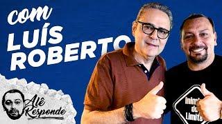"""""""MESSI É O MELHOR JOGADOR QUE VI JOGAR, O SEGUNDO É O ZICO"""" - Alê Responde #128 com Luís Roberto"""