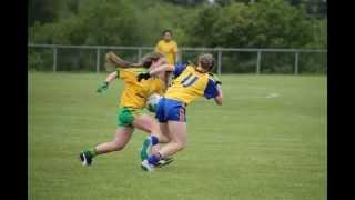 U14 Donegal Girls Gaelic Football Team 2015