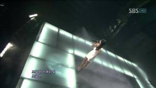 Gambar cover Baek Ji Young - That woman (백지영 - 그여자) @ SBS Inkigayo 인기가요 101212