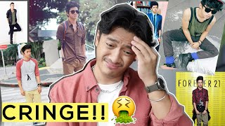Reacting to my Old Outfits! | David Guison