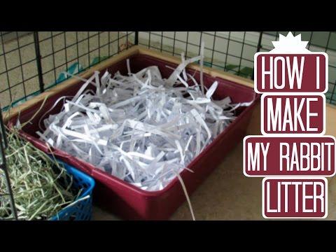 Cheap Rabbit Litter!