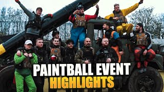 Das EINE MILLION SPECIAL PAINTBALL EVENT mit STREAMER & YOUTUBE KOLLEGEN