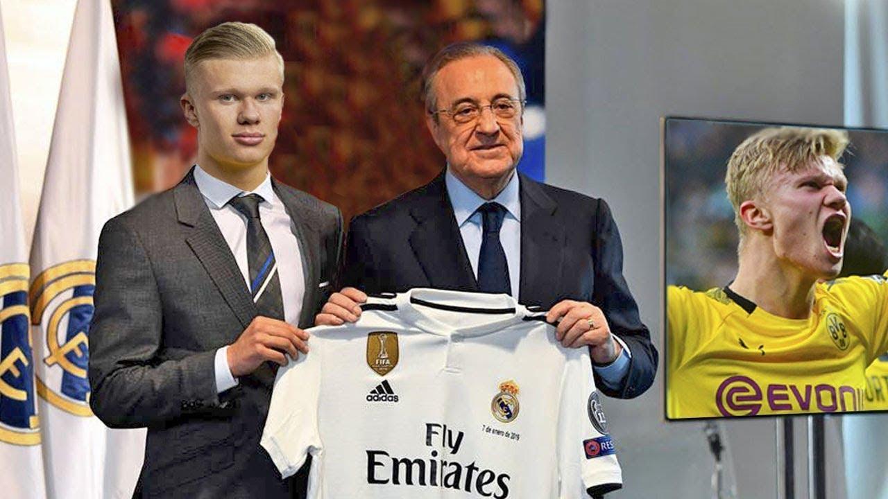 اخبار ريال مدريد ! اخيرا الثعلب بيريز يضرب القاضية فى صفقة هالاند بمبلغ فلكى ! ضربة قاتلة لبرشلونة