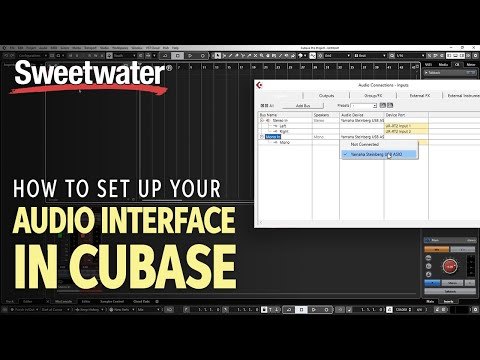 How to Set Up Your Audio Interface in Cubase