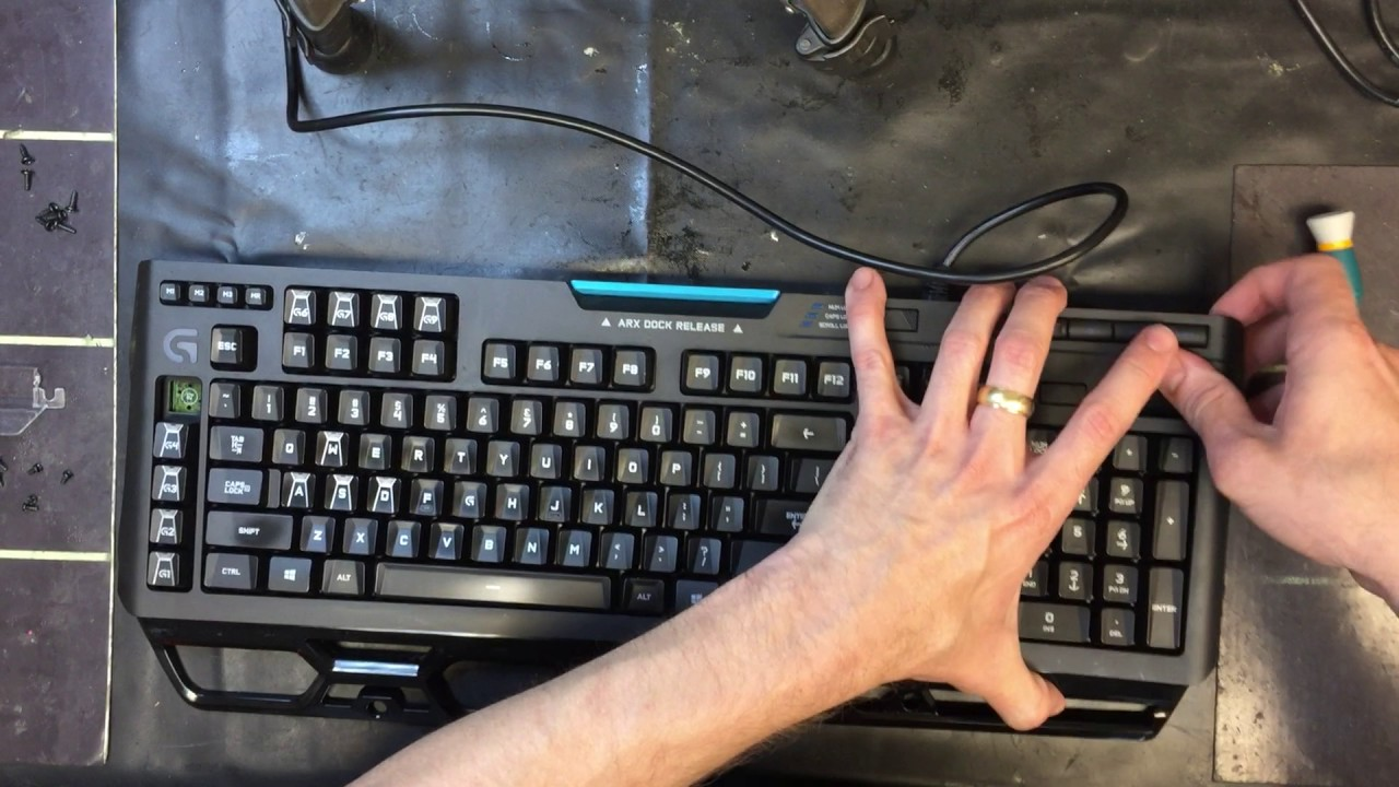 Logitech G910 take apart guide