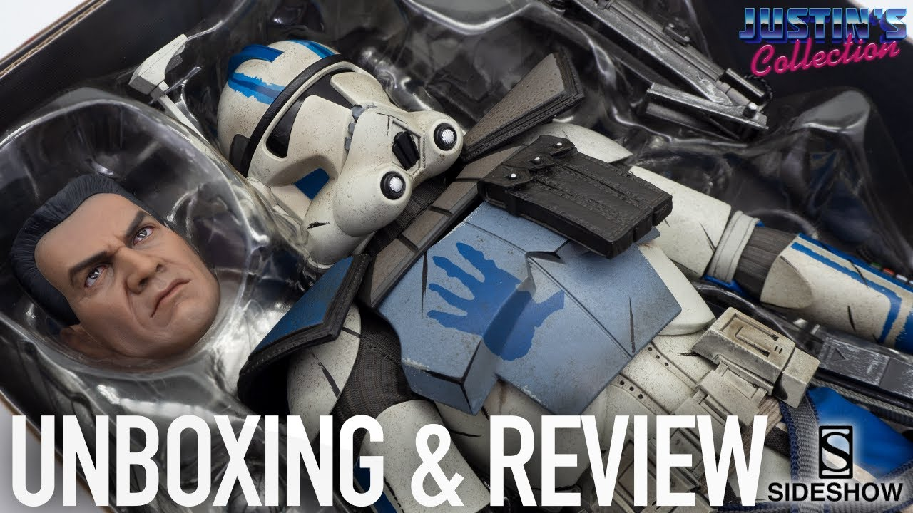 Clone Wars Echo Arc Trooper Sideshow Collectibles Unboxing & Review